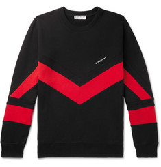 Givenchy Logo-Embroidered Loopback Cotton-Jersey Sweatshirt