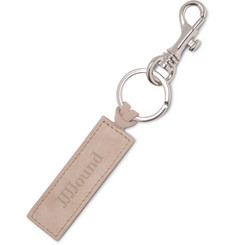 A.P.C. + JJJJound Suede and Silver-Tone Key Fob