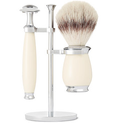 Mühle - Purist Three-Piece Chrome and Resin Shaving Set