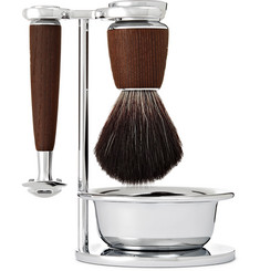 Mühle - Rytmo Four-Piece Chrome and Resin Shaving Set
