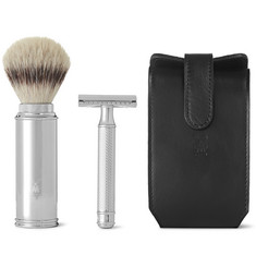 Mühle - Chrome-Plated Safety Razor Travel Shaving Set