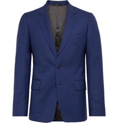 Paul Smith Royal-Blue Soho Slim-Fit Wool-Twill Suit Jacket