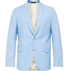 Paul Smith Sky-Blue Soho Slim-Fit Wool and Mohair-Blend Suit Jacket
