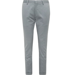 Paul Smith Slim-Fit Cotton-Blend Twill Trousers