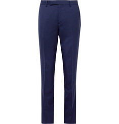 Paul Smith Royal-Blue Soho Slim-Fit Wool-Twill Suit Trousers
