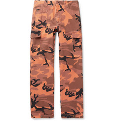McQ Alexander McQueen Camouflage-Print Cotton-Canvas Cargo Trousers