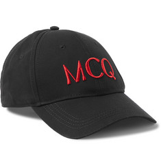 McQ Alexander McQueen Logo-Embroidered Cotton Baseball Cap