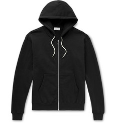 John Elliott Athens Loopback Cotton-Jersey Zip-Up Hoodie