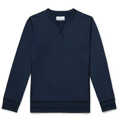 Albam Fleece-Back Cotton-Jersey Sweatshirt