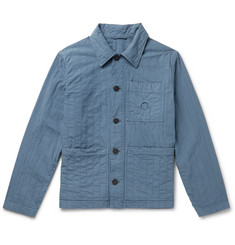 Craig Green Quilted Cotton-Canvas Chore Jacket