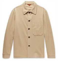 Barena Stretch-Cotton Twill Shirt Jacket