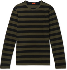 Barena Striped Cotton-Jersey T-Shirt