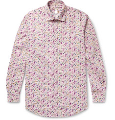 Massimo Alba Printed Cotton Shirt