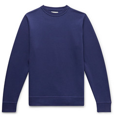 Oliver Spencer Loungewear Harris Fleece-Back Cotton-Jersey Sweatshirt