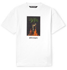 oversized-printed-cotton-jersey-t-shirt by palm-angels