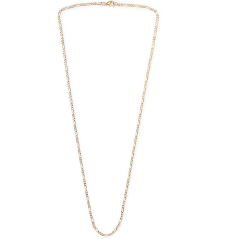 MAPLE Figaro Gold-Filled Chain Necklace