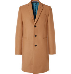 PS Paul Smith Slim-Fit Wool-Blend Overcoat