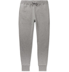 PS Paul Smith Tapered Fleece-Back Organic Cotton-Jersey Sweatpants
