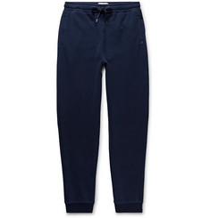 Derek Rose Devon Slim-Fit Tapered Brushed Loopback Cotton-Jersey Sweatpants