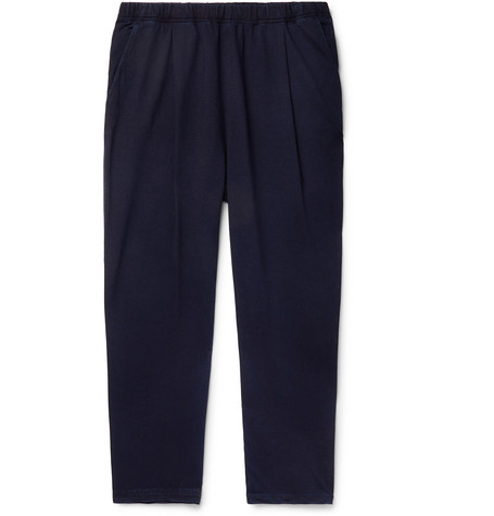 Universal Works Kyoto Pleated Stretch-Twill Trousers