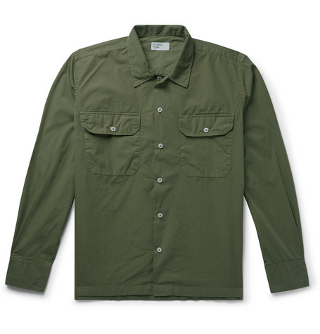 Universal Works Cotton-Poplin Shirt