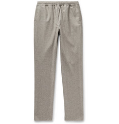 De Bonne Facture Tapered Cotton-Twill Trousers