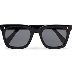 Cubitts Judd Square-Frame Acetate Sunglasses