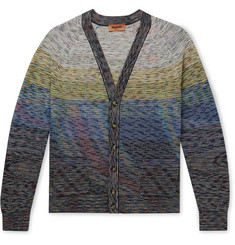 Missoni Space-Dyed Linen-Blend Cardigan