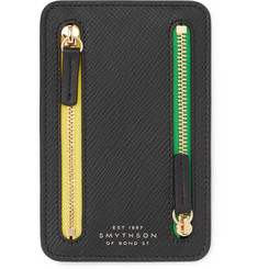 Smythson Panama Mini Cross-Grain Currency Case