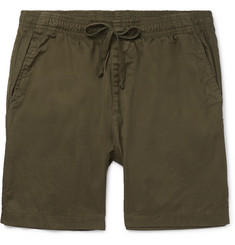 Save Khaki United Easy Slim-Fit Cotton-Twill Shorts