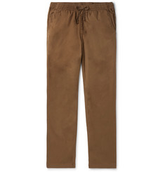 Save Khaki United Easy Slim-Fit Cotton-Twill Drawstring Chinos