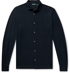 Incotex Ice Cotton-Jersey Shirt