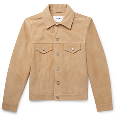 NN07 Noah Slim-Fit Suede Trucker Jacket