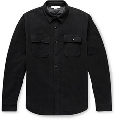 FRAME Cotton-Moleskin Shirt Jacket