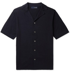 Lardini Camp-Collar Cotton Shirt