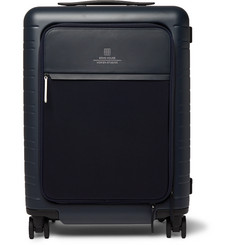Horizn Studios + Soho House M5 Leather-Trimmed Polycarbonate and Nylon Suitcase