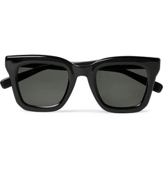 Native Sons + Sacai Cornell Square-Frame Acetate Sunglasses