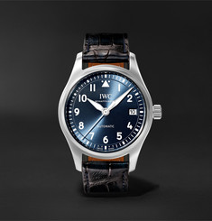 IWC SCHAFFHAUSEN Pilot's Automatic 36mm Stainless Steel and Alligator Watch