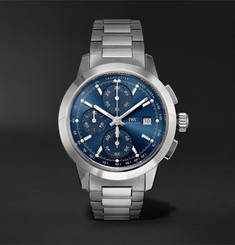 IWC SCHAFFHAUSEN - Ingenieur Automatic Chronograph 42.3mm Stainless Steel Watch, Ref. No. IW380802