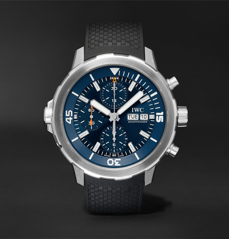 IWC SCHAFFHAUSEN Aquatimer Chronograph Expedition Jacques-Yves Cousteau Edition Automatic 40mm Stainless Steel and Ru