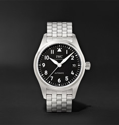 IWC SCHAFFHAUSEN Pilot's Automatic 36mm Stainless Steel Watch, Ref. No. IW324010