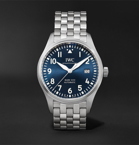 IWC SCHAFFHAUSEN Pilot's Mark XVIII Le Petit Prince Edition Automatic 40mm Stainless Steel Watch, Ref. No. IW327016