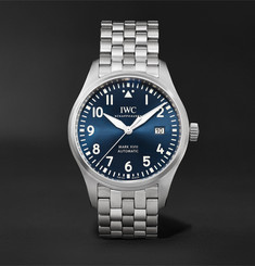 IWC SCHAFFHAUSEN - Pilot's Mark XVIII Le Petit Prince Edition Automatic 40mm Stainless Steel Watch, Ref. No. IW327016