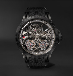 Roger Dubuis Excalibur Pirelli ICE ZERO 2 One-of-a-Kind Hand-Wound Skeleton Double Flying Tourbillon 47mm Titaniu