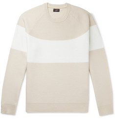 Club Monaco Striped Cashmere Sweater