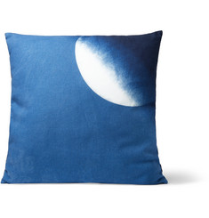 Blue Blue Japan Indigo-Dyed Cotton Cushion