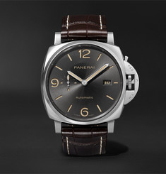 Panerai Luminar Due Automatic 45mm Stainless Steel and Alligator Watch