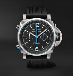 Panerai Luminor Yachts Challenge Automatic Flyback Chronograph 44mm Titanium and Rubber Watch, Ref. No. PAM0
