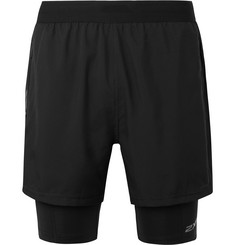 2XU XVENT 2-In-1 Compression Vapor Running Shorts