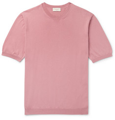 Altea Knitted Cotton T-Shirt